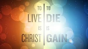Living is Christ