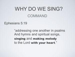 Sing and sing