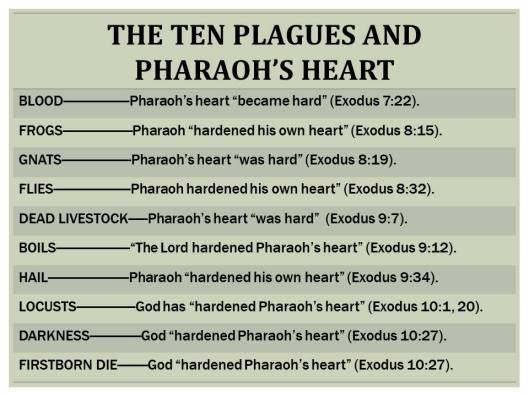 THE HARDENING OF PHARAOH'S HEART – Preach the Word