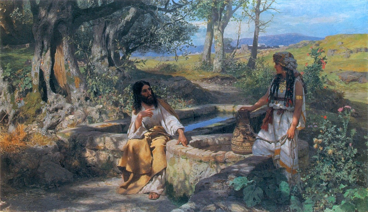 The Woman at the Well. In the Gospel of John, Jesus revealed… | by Angela  N. Meyer | Challenging Theology | Medium